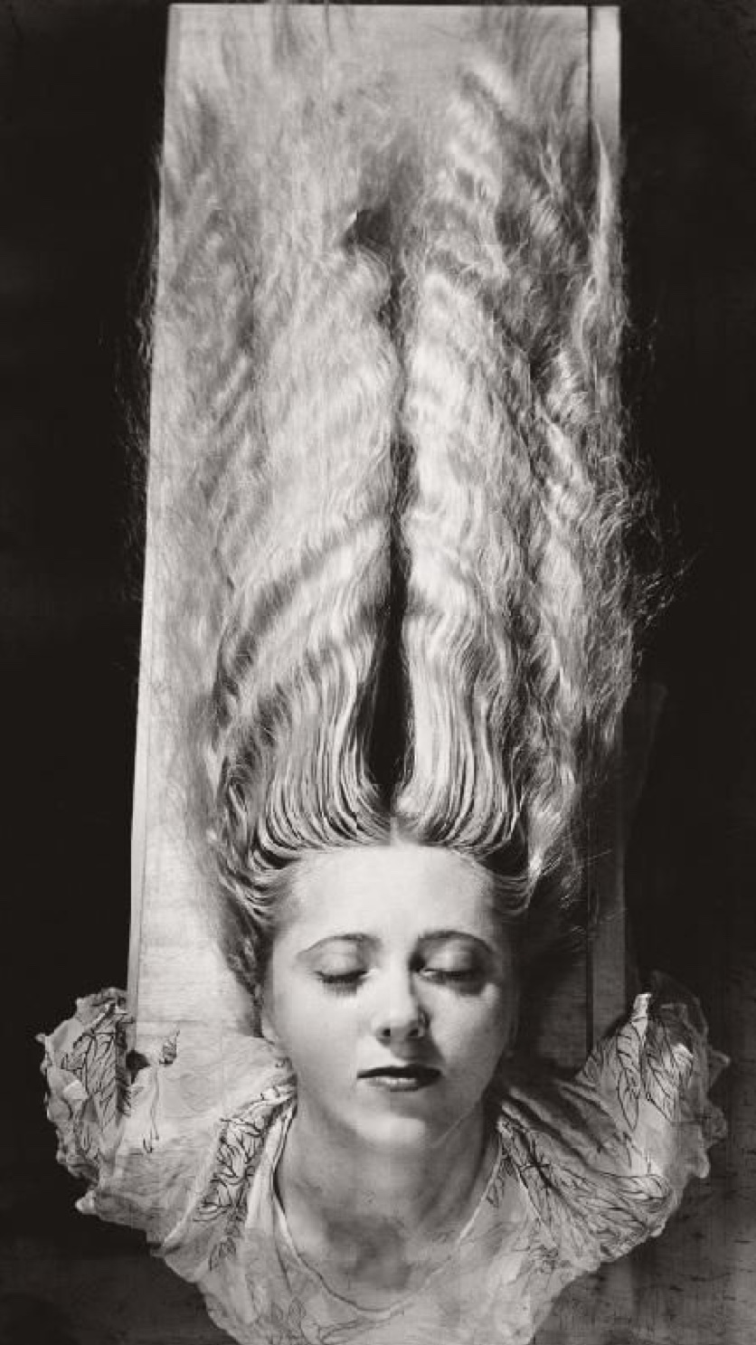 Woman with Long Hair - By  Man Ray 1929