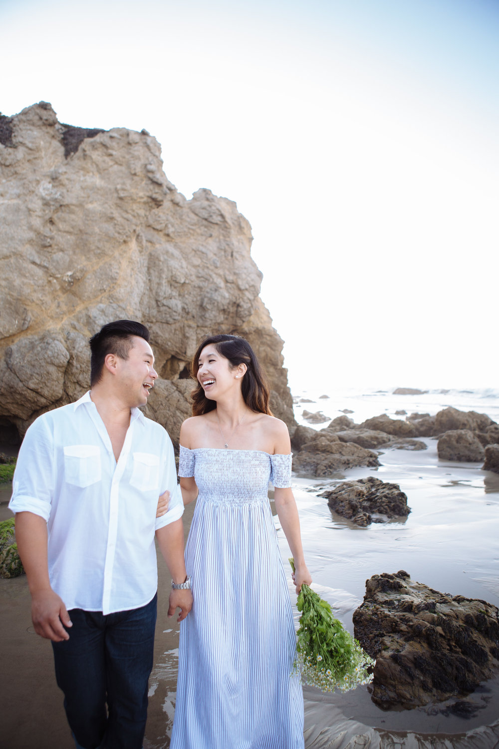 Malibu Engagement Photography