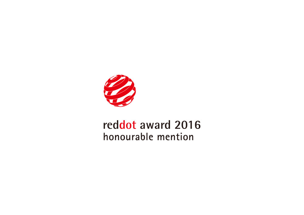 September.2016 - I am glad to receive the news that my work 'FOLD' has been awarded by red-dot. thank to every one who supported me during the project.