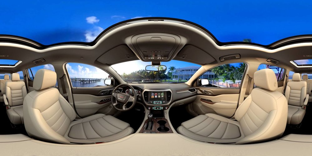 360 Photo inside a 2017 GMC Acadia Denali