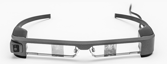 Epson Moverio BT-300 Augmented Reality Glasses with Android