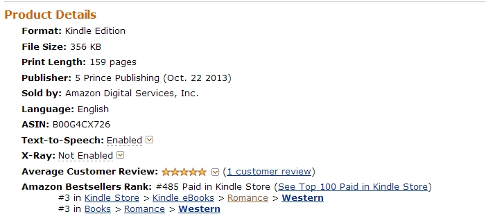 #3 best seller canada