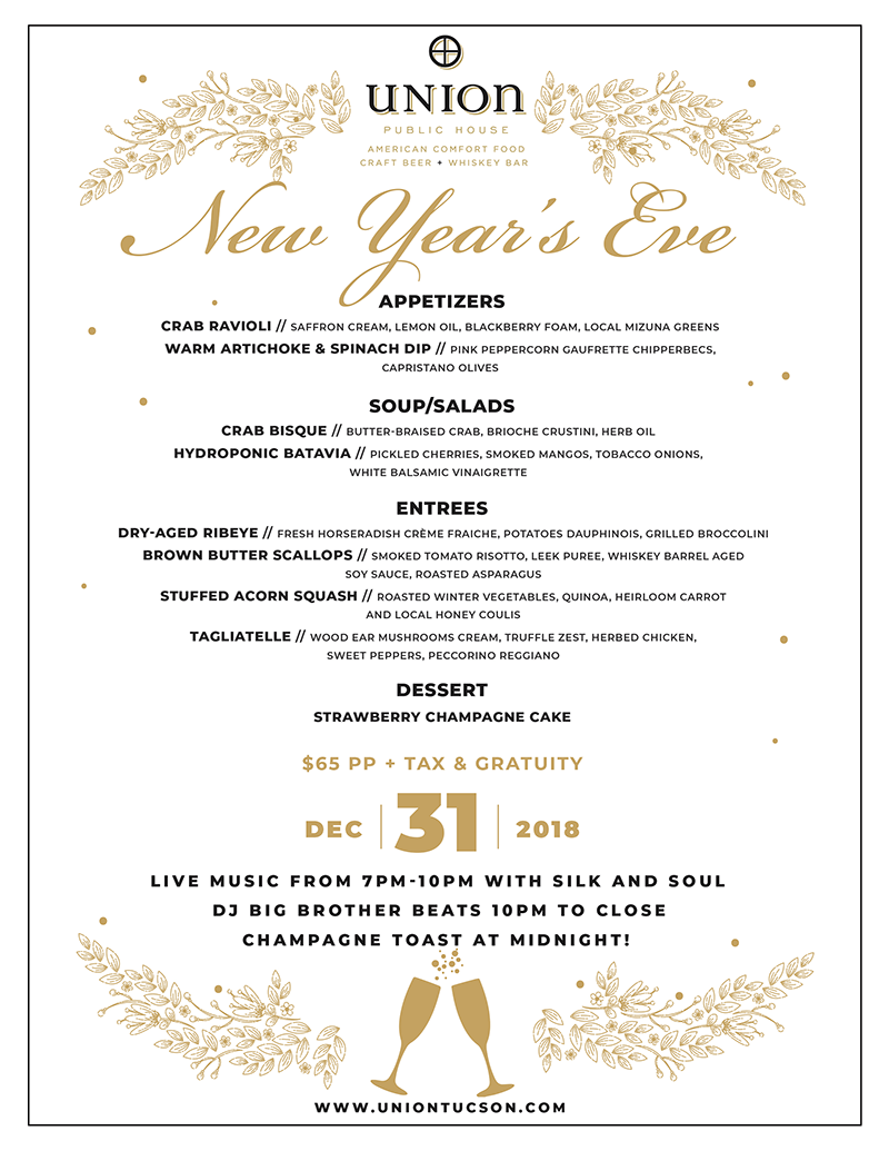 New Year's Eve - at Union Public House