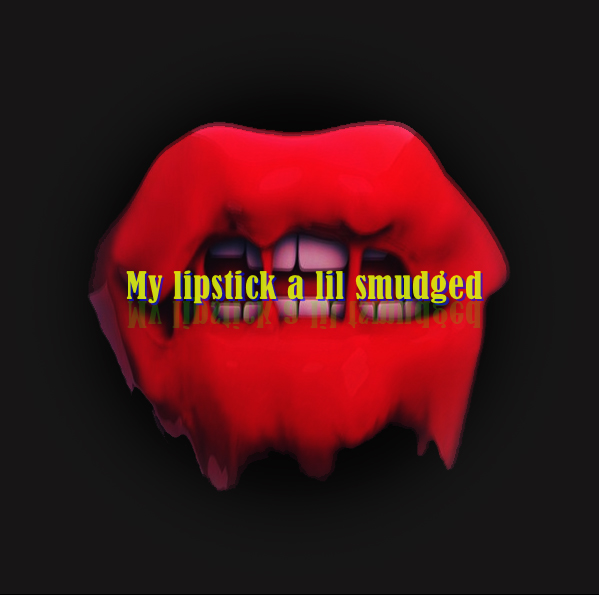"""""""My vision is blurry My lipstick a lil smudged My smile kind of awkward My language too vulgar But my eyes say otherwise They say look at me I'm perfectly flawed.""""  Poetry by me  @slimesunday"""
