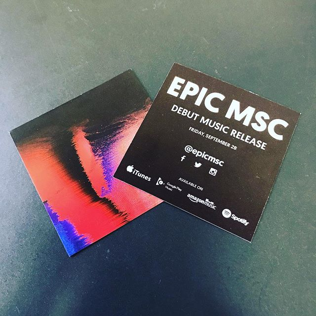 Mannnnn! It's REALLY here! @epicchurch FIRST EVER EP! Honored to have been a part of the creative process for this! Get it where music is sold digitally. It drops tomorrow, September 28th. And come see us live at EPIC's 10yr Celebration at Keswick Theatre. Show times 5P and 7P. Come through and hang with ya boy!