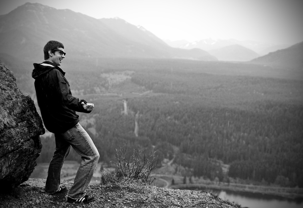 The Hip Thrust Into Infinity –  Rattlesnake Ledge, 2006
