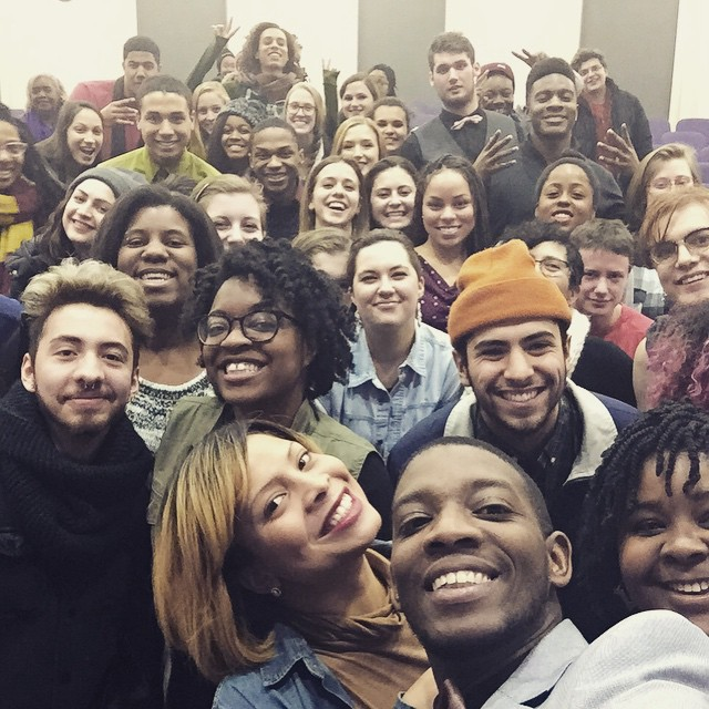 "9. Speaking at Northwestern University to Dr. Kai Green's ""Queer in the City"" students within the Department of African American Studies and The Department of Gender and Sexuality."