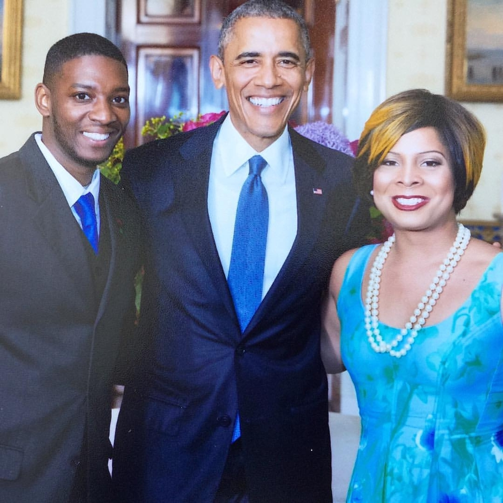 2. Meeting President Obama at The White House LGBTQ Pride reception.