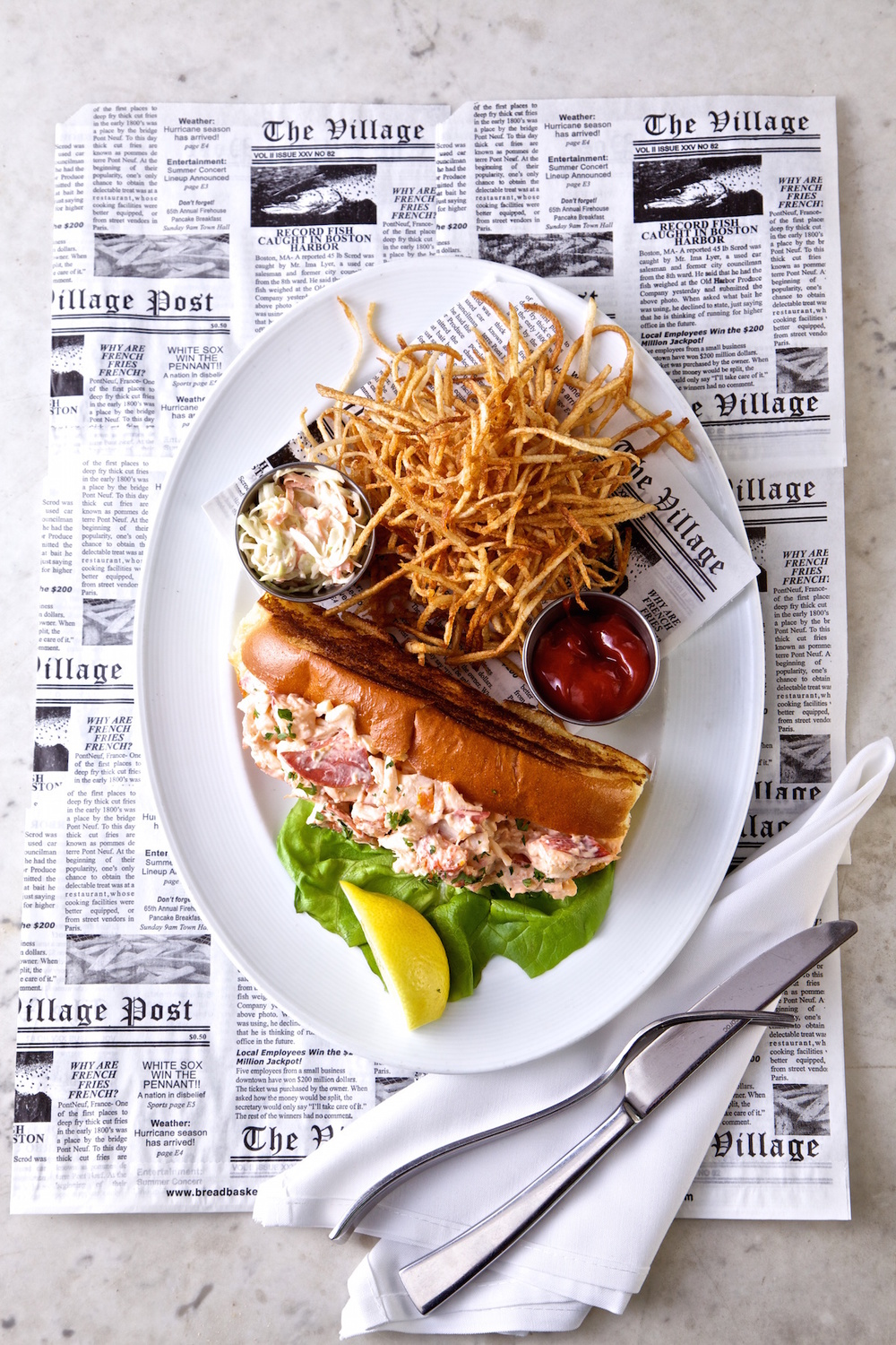 Morgans Fish House Rye New York Lobster Roll