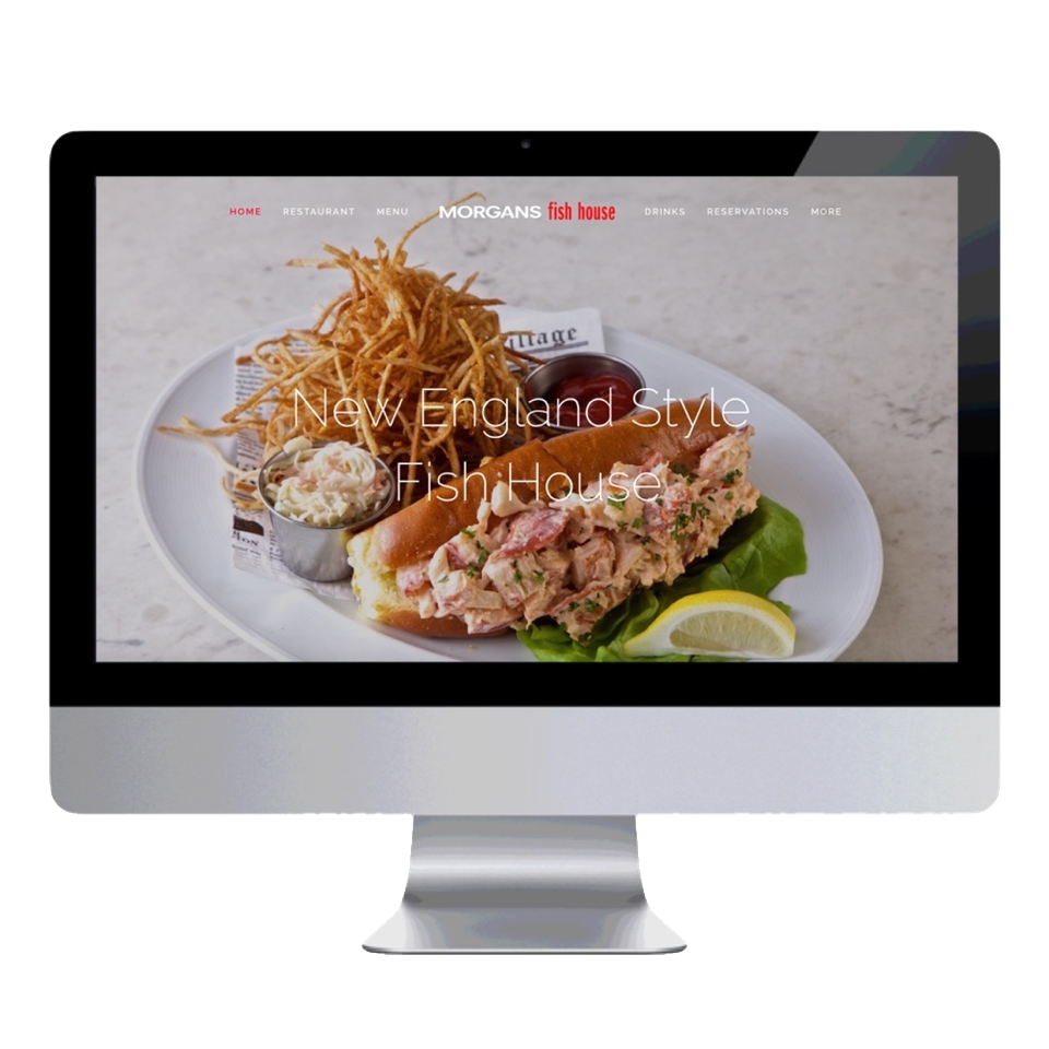 Morgans Fish House Home Page