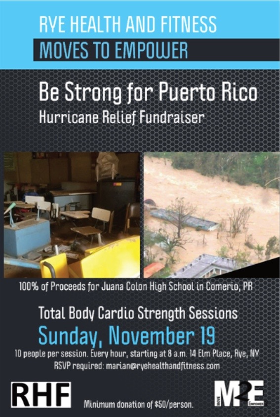Morgans Fish House Puerto Rico Fundraiser