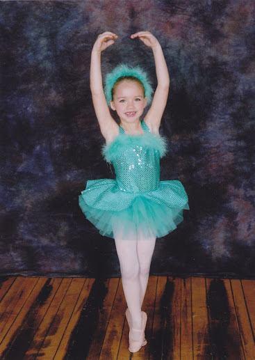 Alexandra Bourne - Age 6