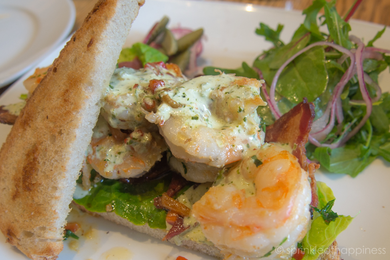 Elephant and Castle - Shrimp sandwich