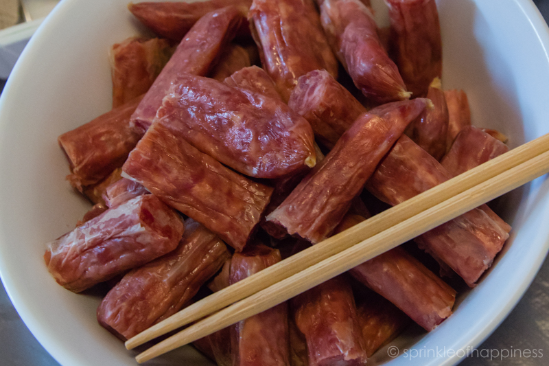 Chinese sausage (lap cheong)