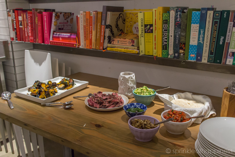 Build your taco station with a side of acorn squash
