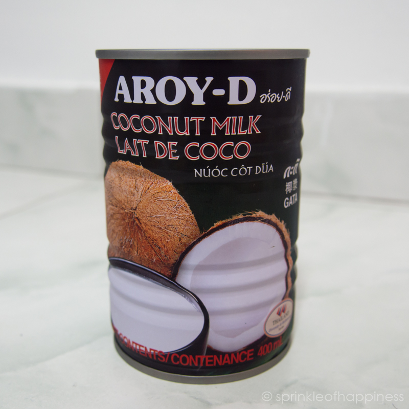 Aroy-D from Thailand is my favourite brand of coconut milk to use because they produce a more creamy coconut milk. There's more coconut solids than water.