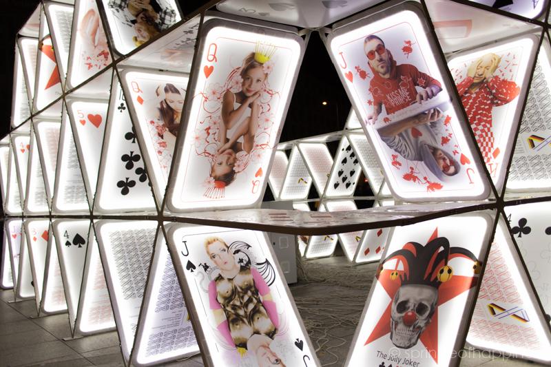 Festival of Lights: House of Cards - Potsdamer Platz