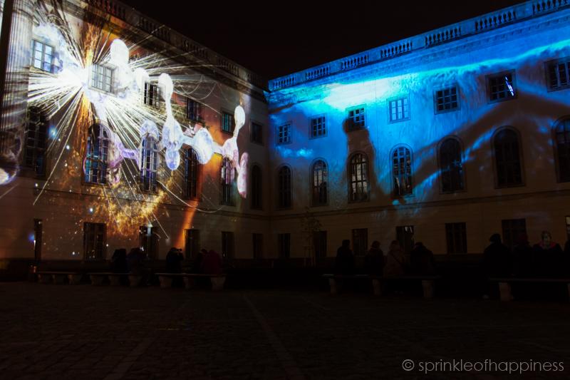Festival of Lights: Humboldt-University Berlin  HUMBOLDT-UNIVERSITY BERLIN
