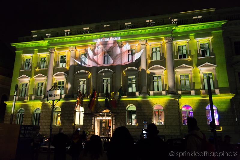 Festival of Lights: Hotel de Rome