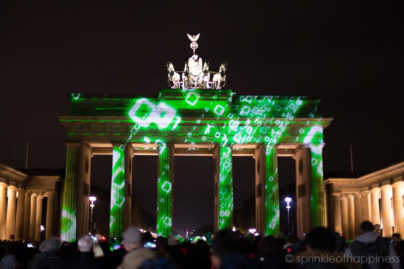 Festival of Lights: Brandenburg Gate