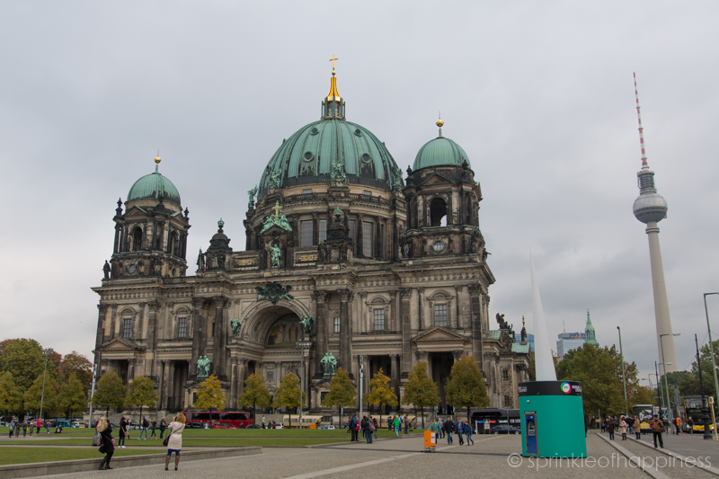 Berlin Cathedral with TV tower