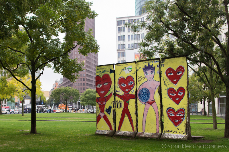 Original Part of Berlin Wall