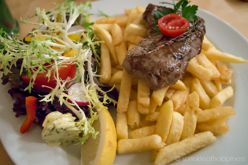 Jendermann's -Steak and Fries
