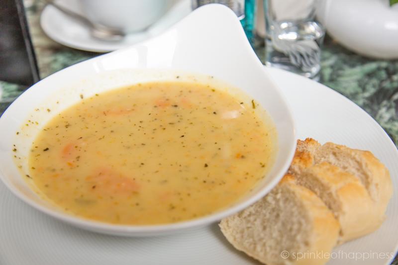 Bode Museum Cafe - Potato Soup