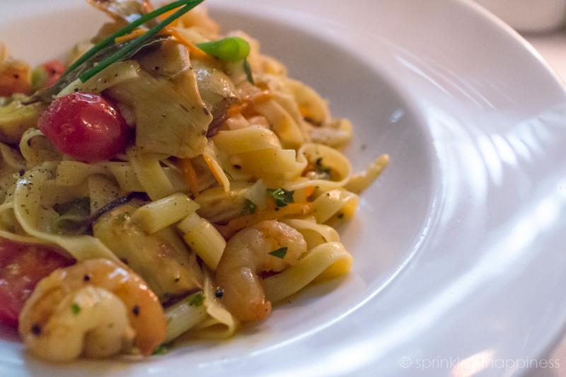 Ristorante a Mano - Tagliatelle with scampi