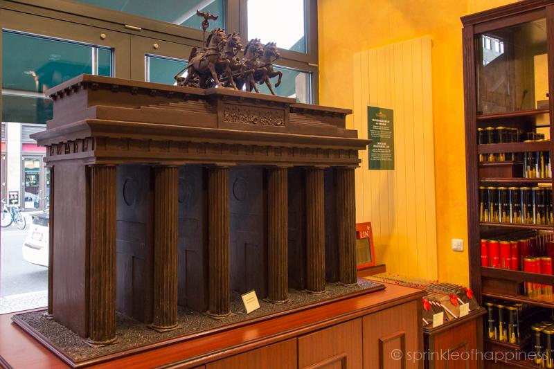 Chocolate Brandenburg Gate