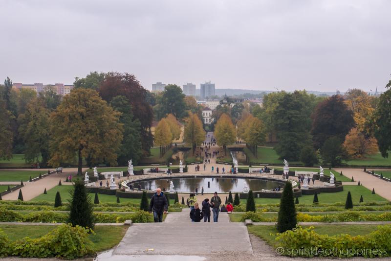Sanssouci garden park