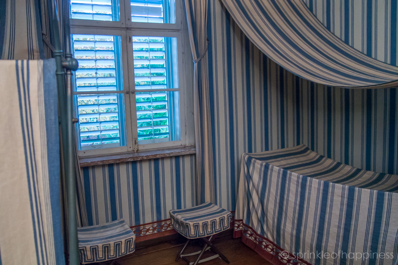 Tent room in Charlottenhof Palace