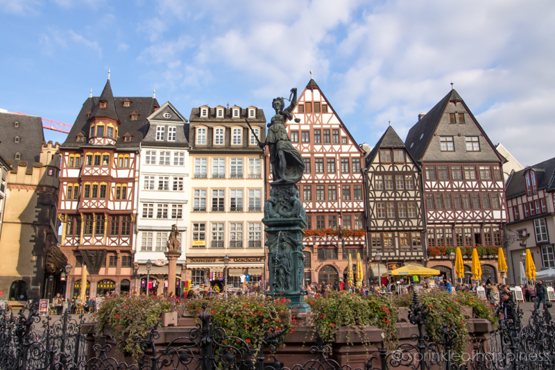 Frankfurt city center