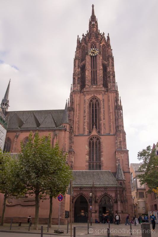 Frankfurt Cathedral dedicated to Saint Bartholomew