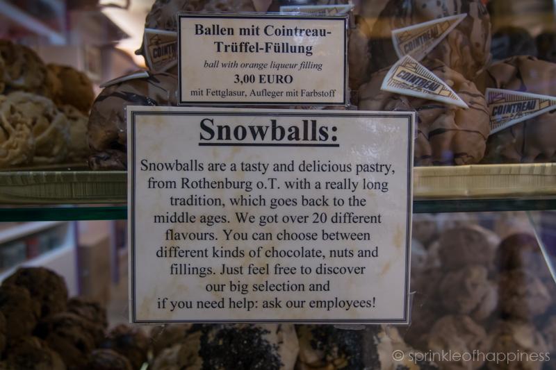 Schneeballen sign