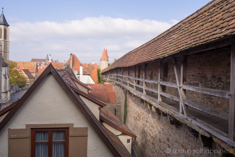 Rothenburg town walls