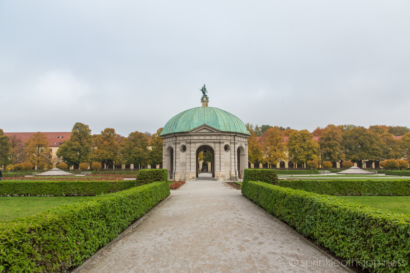 Hofgarten - Behind  Residenz  Munich