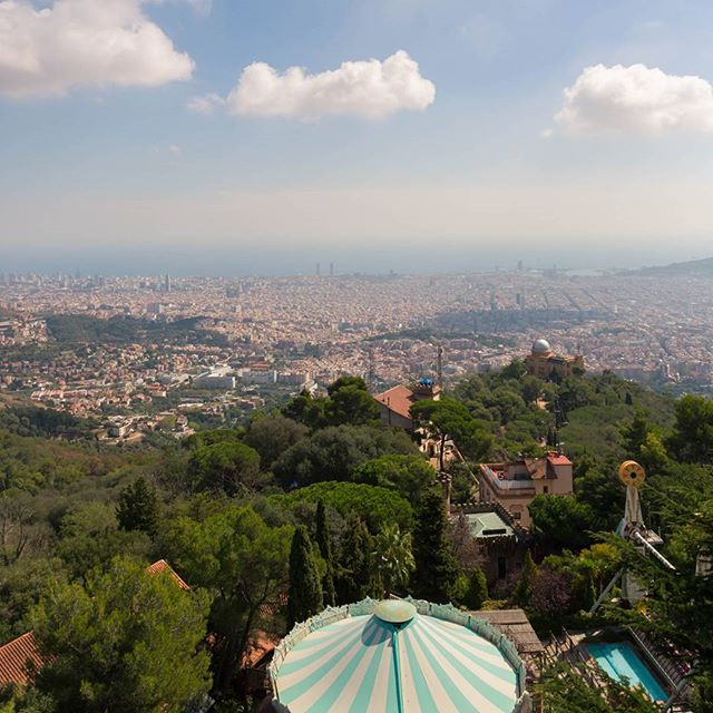 Goodbye Barcelona ...until next time  #tibidabo #barcelona #catalunya #catalunyaexperience #view #beautifulviews #beautifulplace