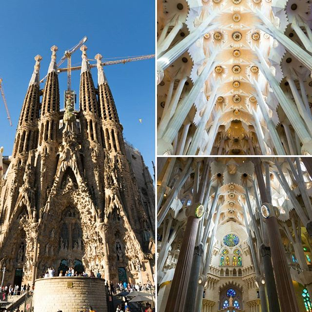 Unfinished yet stunning. To return after 2026 to see its completion.  #gaudi #architecture #catalunya #sagradafamilia #barcelona #catalunyaexperience #nature #light #photooftheday #picoftheday @sagradafamiliabarcelona