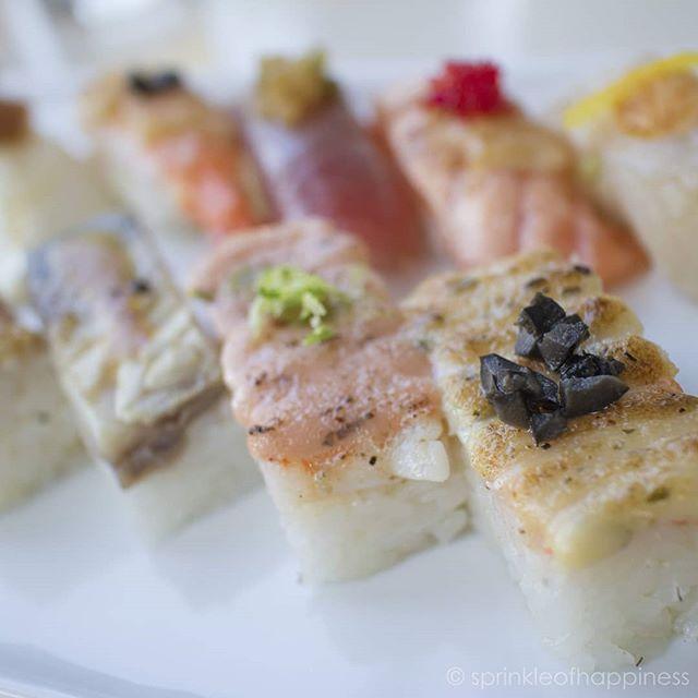 Truffle shrimp sushi was my favourite from aburi signature lunch omakase . . . . . #aburiroom #aburi #oshi #sushi #sushilover #sushiporn #the6ix #cravethe6ix #torontofoodie #tofoodie #yyzfoodie #tastethesix #torontoeats #toreats #yyz #tofinest #instafood#foodstagram #yummy #hungry