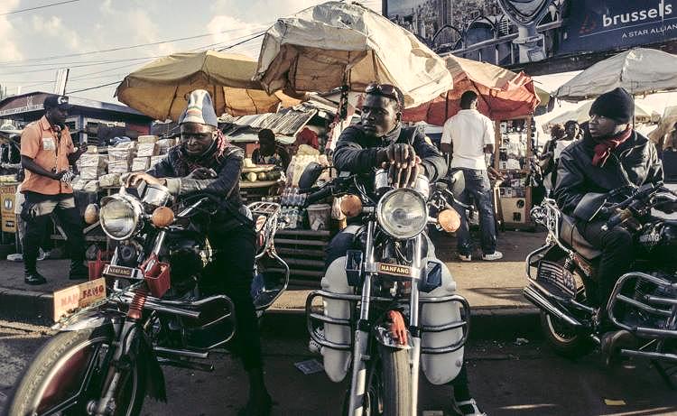 Les Motos in Bamenda, Cameroon