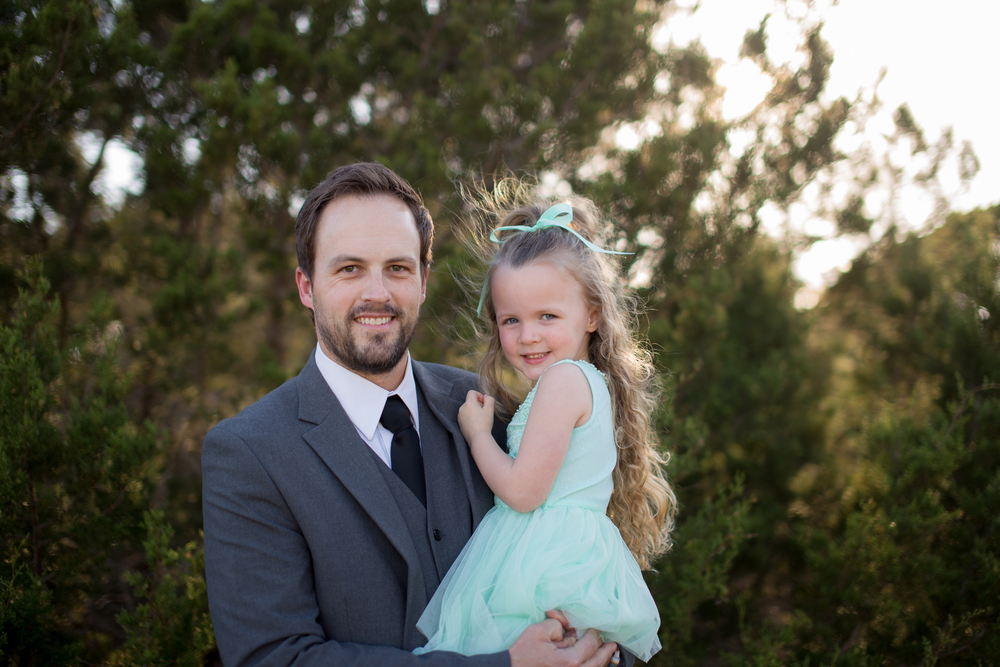 Another pic of Liv and I before the Daddy Daughter Dance at our church. She danced circles around me... literally