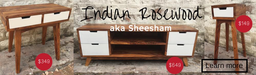 Indian Rose wood furniture