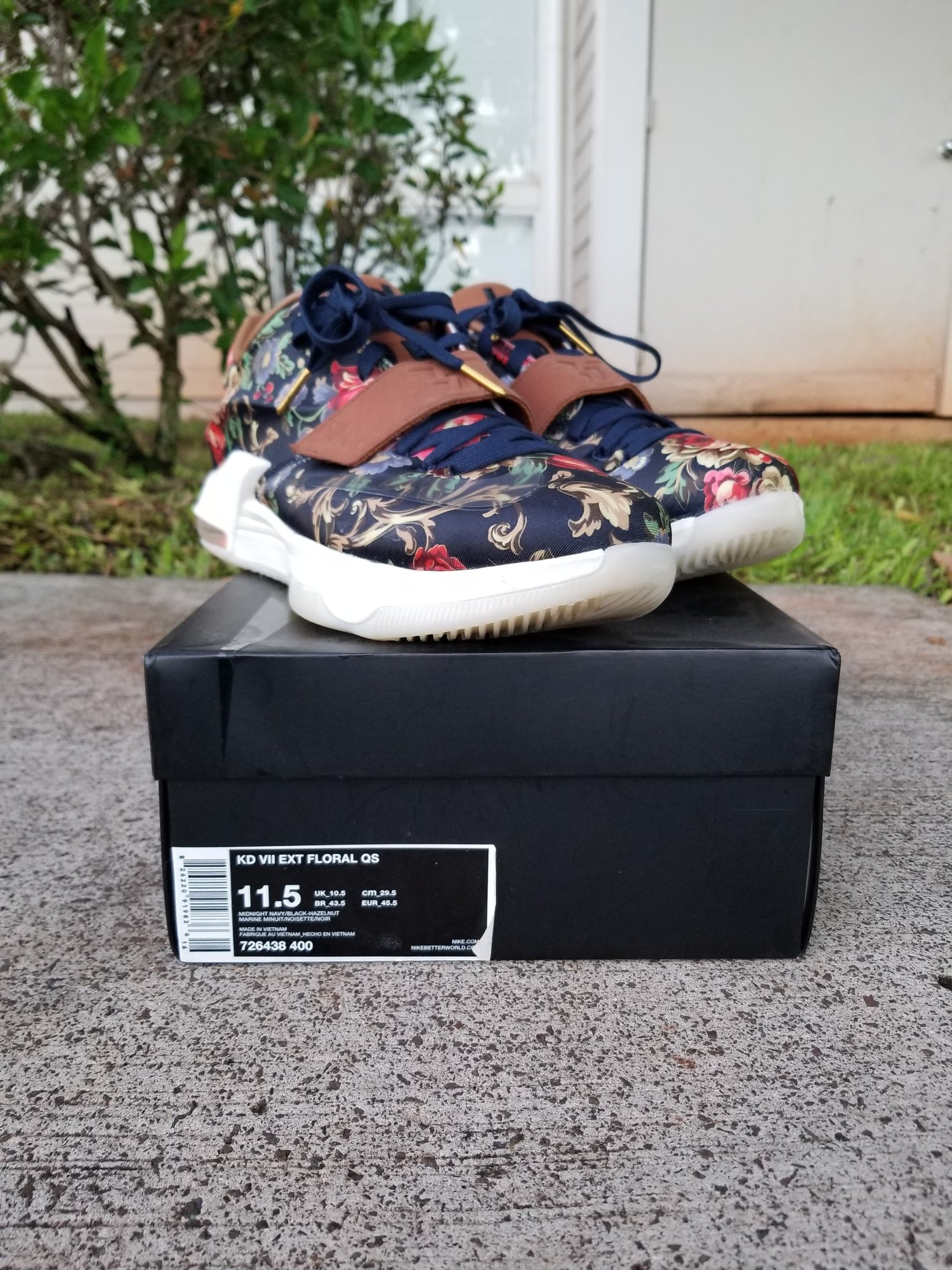 f339aa64d62 Nike KD 7 EXT Floral Size 11.5 — Everyday People 247