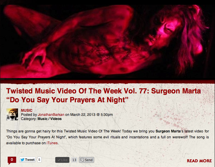 Bloody Disgusting's Twisted Video of the Week