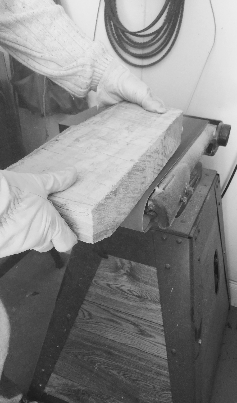 wood shop sander
