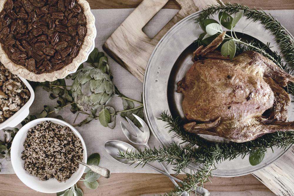 thanksgiving feast / wooden feast board / WoodKith