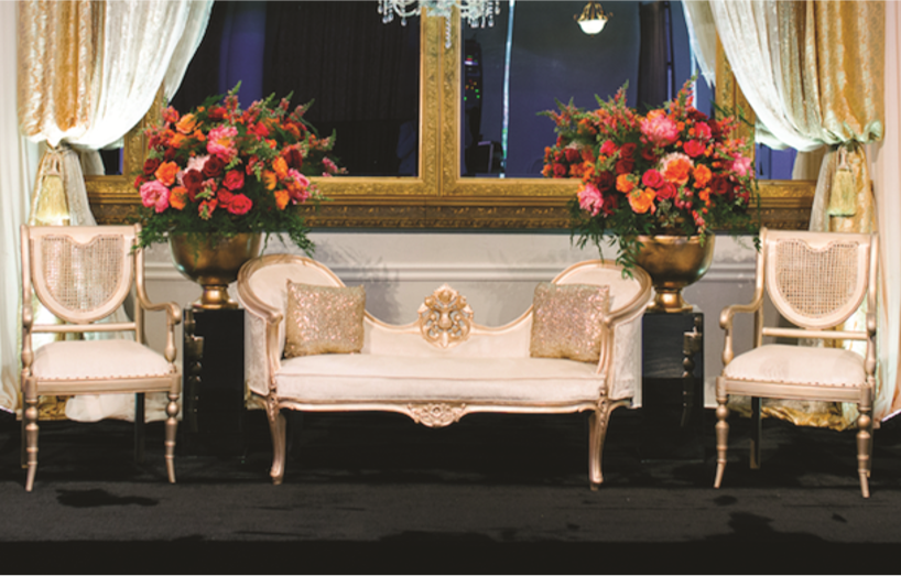 ST-3: Gold Couch Set