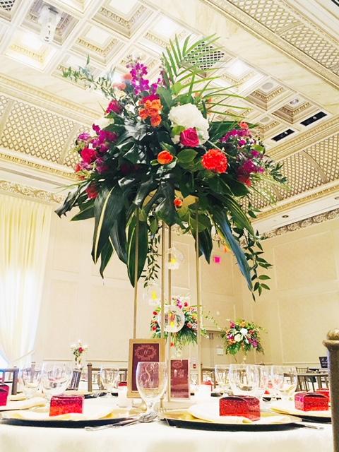 FL-3: Metal Floral Stand