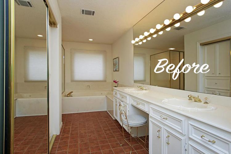 Project Update Master Bath Redo Take - Redo master bathroom